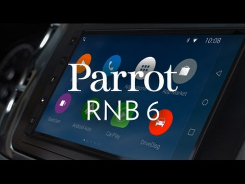 Parrot introduces CarPlay-powered RNB6 infotainment system