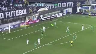Gooll do vecchio!!!  Santos 1x 0 Chapecoense  2017