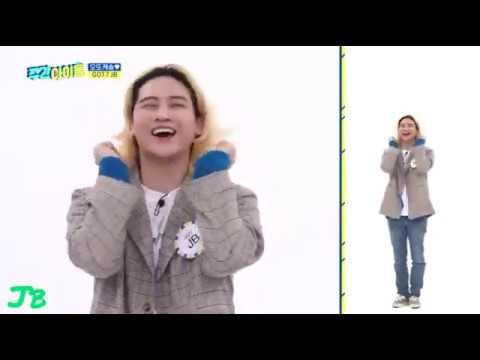 GOT7 Aegyo Ottoke Song Weekly Idol (Original by Hyojung OMG)