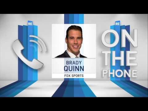 FOX College Football Analyst Brady Quinn Talks NFL Rookie QBs & More - 11/10/16