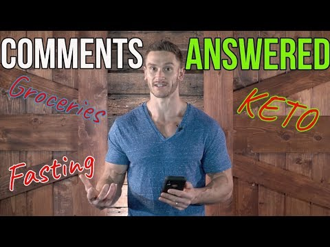 Your Comments Answered - Q&A for Keto, Fasting, Everything in Between | Week 11/19/18