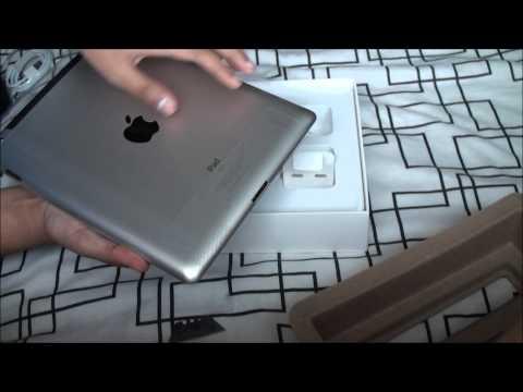 Apple iPad 2 Unboxing Wifi + 3G Model - 16GB - Black - HD