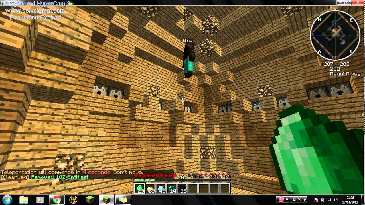 Minecraft Server Review part 2 Crashingpvp lol YouTube