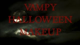 Vampy Halloween Makeup Tutorial Thumbnail