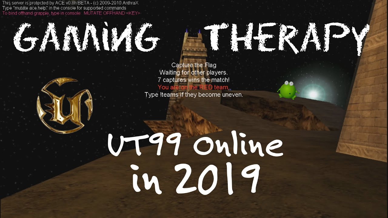 Gaming Therapy - Episode 14: Unreal Tournament 1999 ONLINE (PC)