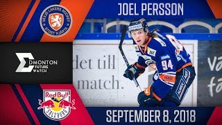 Joel Persson | One Assist vs Salzburg | Sep. 8, 2018