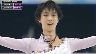 Hanyu wins 2013 Grand Prix Final - Universal Sports