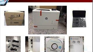 HP Color LaserJet Enterprise M553 DN (Review Unbox)