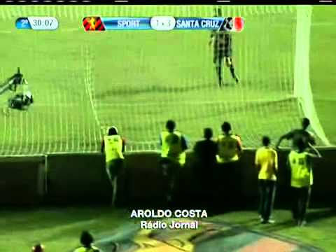 Redação Sportv AM gol de Luciano Santa Cruz na conquista do Campeonato Pernambucano