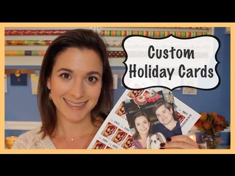Custom Holiday Cards (Holiday Prep 2014)