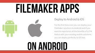 FileMaker Apps on Android-FileMaker App Development-FileMaker …