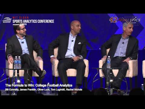 SSAC15: The Formula to Win: College Football Analytics