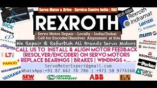 Rexroth Dubai Servo Motor Encoder Resolver Heidenhain Repair UAE Kuwait Bahrain Oman Saudi KSA