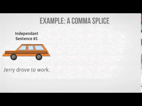 Grammar corner - Run-On Sentences - YouTube