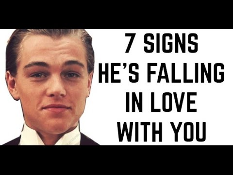 Signs he has fallen in love with you