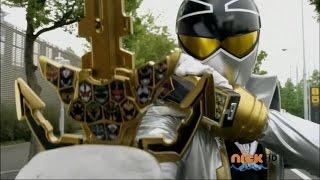 Power Rangers Super Megaforce - Power of Six - Super Mega Gold Transformation (1080p HD)