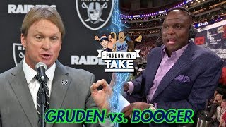 Booger McFarland's Issues with Jon Gruden