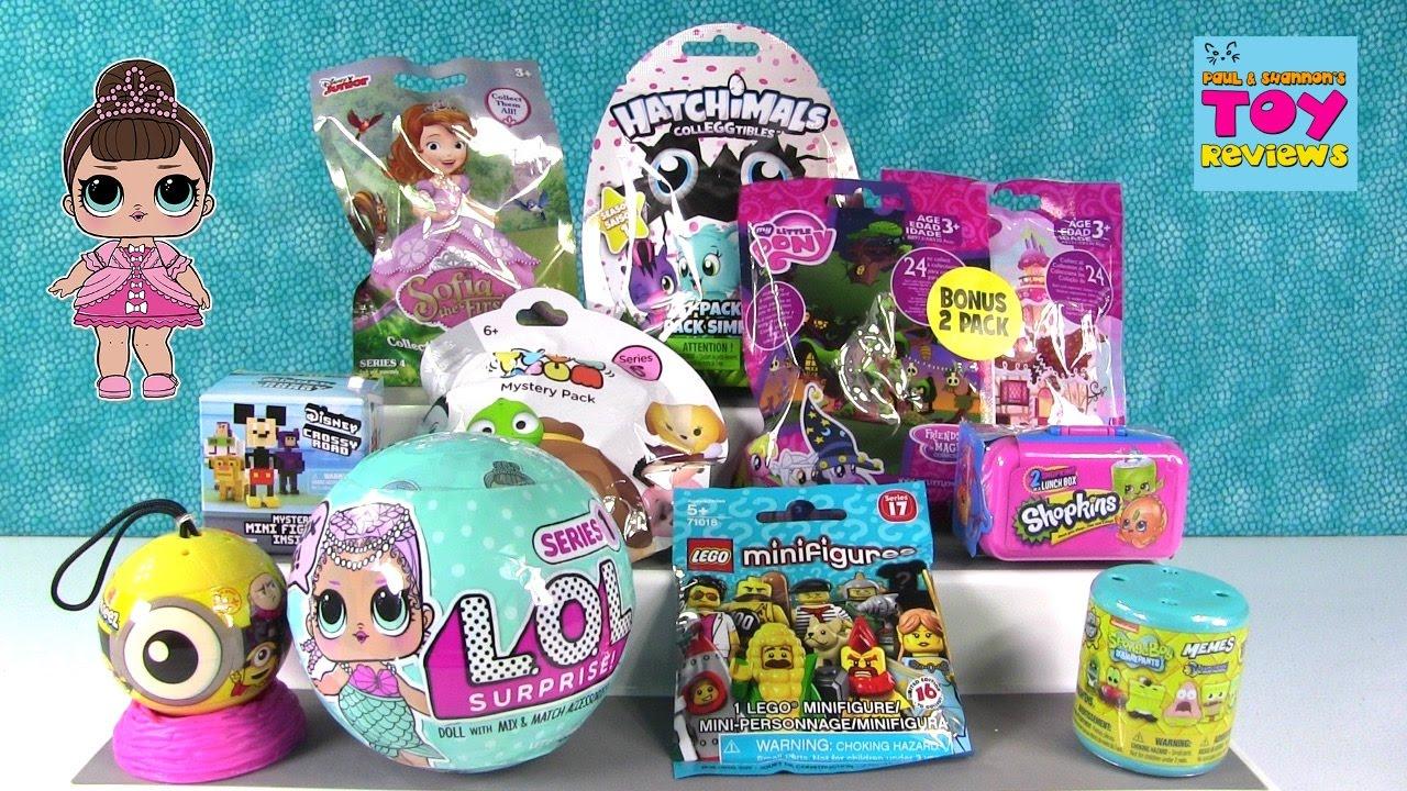 Disney Lol Surprise Doll Shopkins Hatchimals Colleggtibles