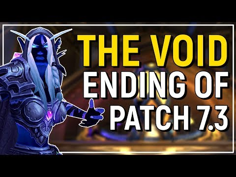 Yep, They Went there... Patch 7.3's Ending - Will This Be The Next Expansion?