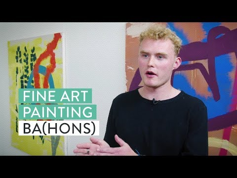 Fine Art Painting BA(Hons)  | University of Brighton