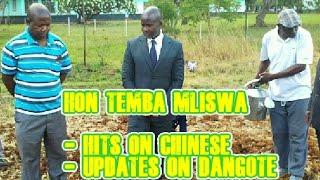 Hon Temba Mliswa - Dangote Group Investing in Norton, Zimbabwe & Takes a swipe at Chinese