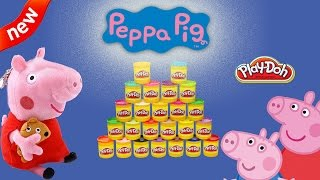 Play Doh Videos - Play Doh Plus with Peppa Pig, Frozen, Princess, Toys, Cookie Monster, Playset