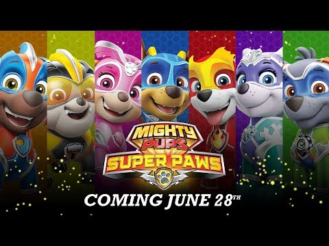 PAW Patrol | The Official Mighty Pups Super Paws Trailer