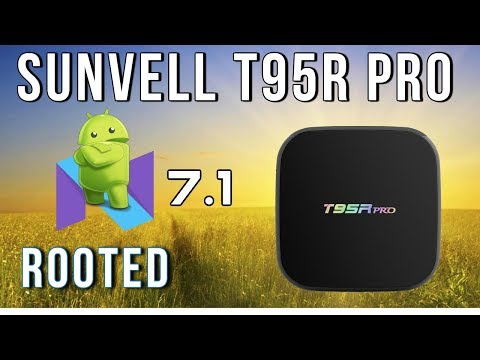 Sunvell T95R Pro Android 7.1 TV Box Review and Benchmarks