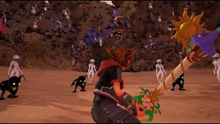 Kingdom Hearts III - 10k Heartless/Nobody/Unversed Fight No Damage (Level 1 Critical Mode)