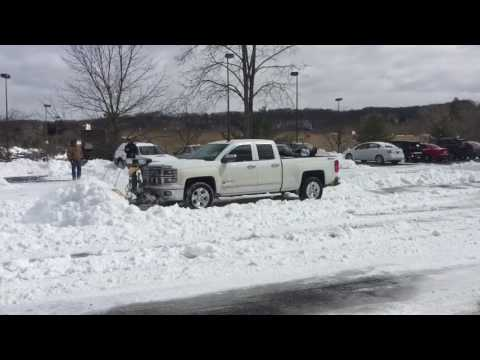 Chevy silverado 2014 plowing