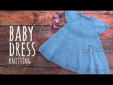 Tutorial Baby Knitting Dress Youtube