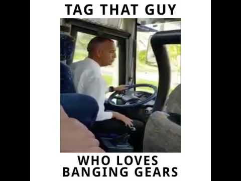Bus Driver Shifting Gears Gently Viral Facebook Edit Youtube