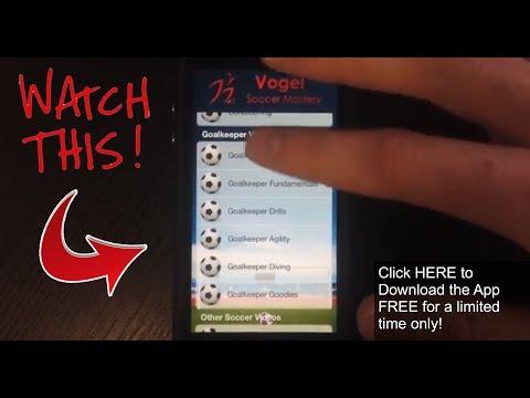 Soccer Training App For IPhone IPad IPod - FREE | Soccer Skills App | Soccer Practice App