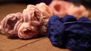 «Ручная работа». Цветы из шифона (14.01.2015)