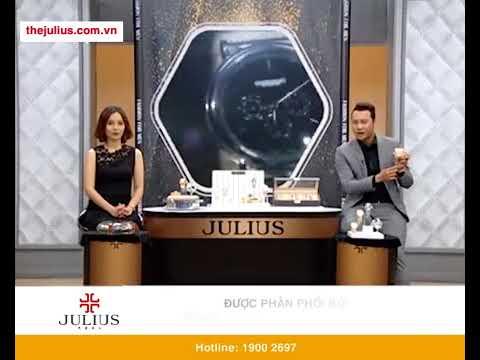Đồng Hồ Nam Cao Cấp Julius JAH-090 Với 2 Màu Bạc Và Vàng