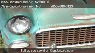 1955 Chevrolet Bel Air Wagon for sale in Nationwide, NC 2760 #VNclassics