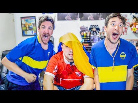 Independiente 0 Boca 1 | Torneo Argentino 2018 | Reacciones de Amigos