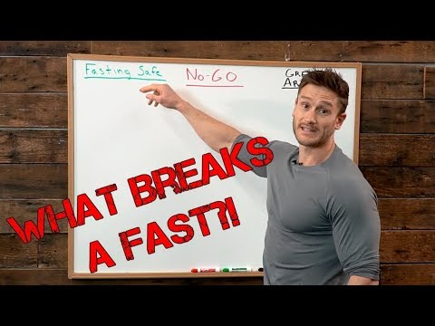 What Breaks A Fast And What Does NOT Break A Fast - The Official Video