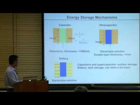 Battery Storage 101 | GCEP Symposium 2010