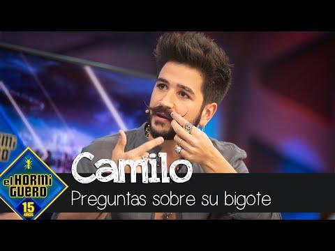 Camilo contesta a la pregunta que nunca le han hecho sobre su bigote - El Hormiguero