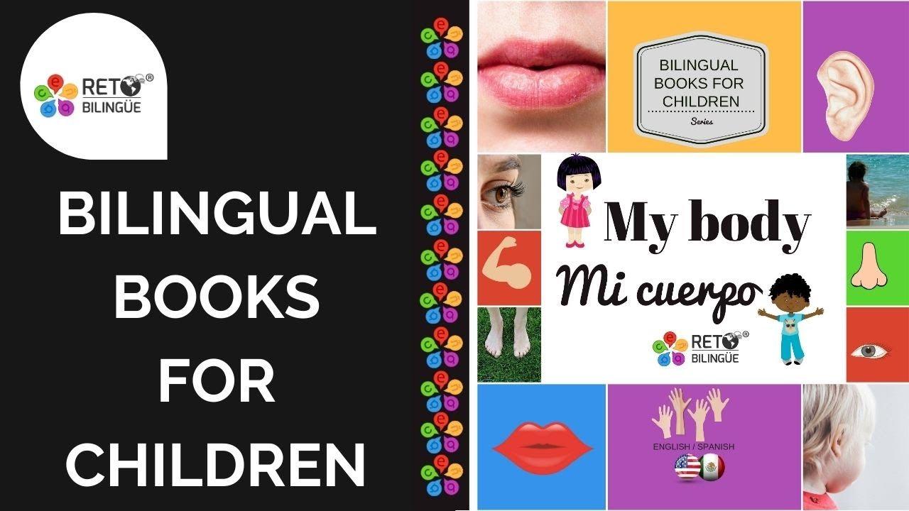 131: Libros Bilingües para Niños de 0 a 5 años en inglés y español - Libro del cuerpo