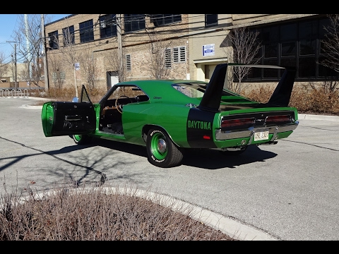 Ride in a Real 426 Hemi 1969 Dodge Daytona Charger? Why Not! on My Car Story with Lou Costabile