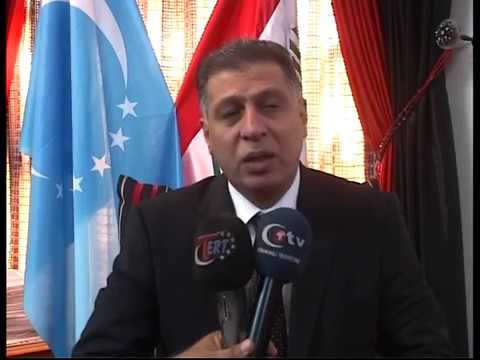 Erşat Salihi Türkmen Başkanı ve Ergenekon Türkçüler Derneği