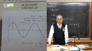 Урок 335. Анализ графика гармонических колебаний