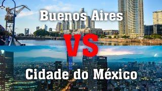 Buenos Aires vs Cidade do México (City vs City)