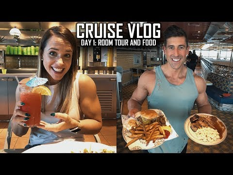 Carnival Valor Cruise Vlog - Day One - Honeymoon - Embarkation, Balcony Room Tour, Cruise Food