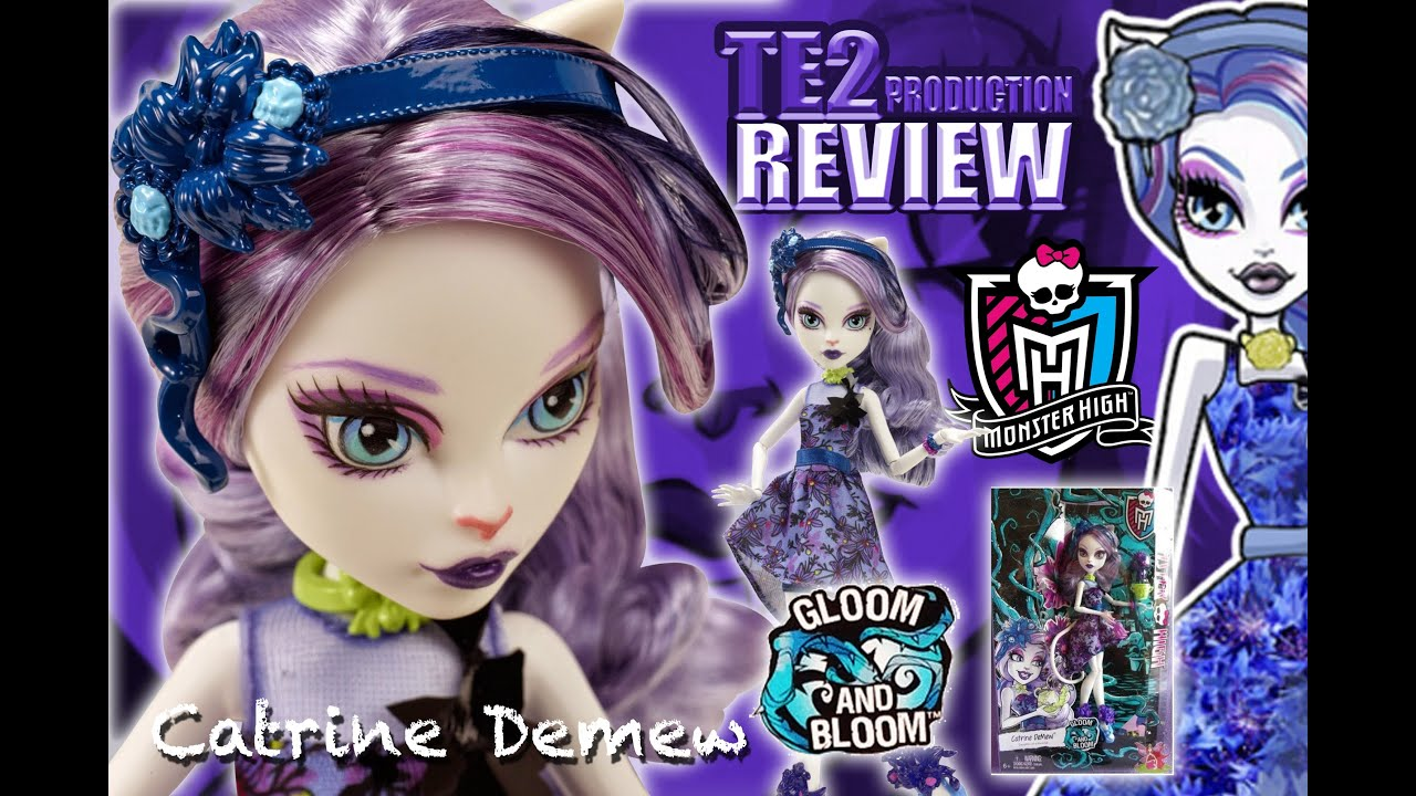 Catrine demew popular catrine demew doll buy cheap catrine demew doll - Review Monster High Gloom And Bloom Catrine Demew