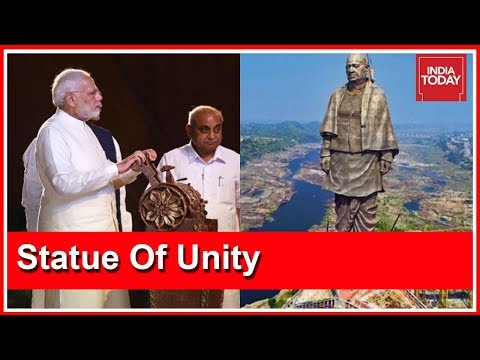 PM Modi Unveils Statue Of Unity, Pays Tribute To Sardar Patel