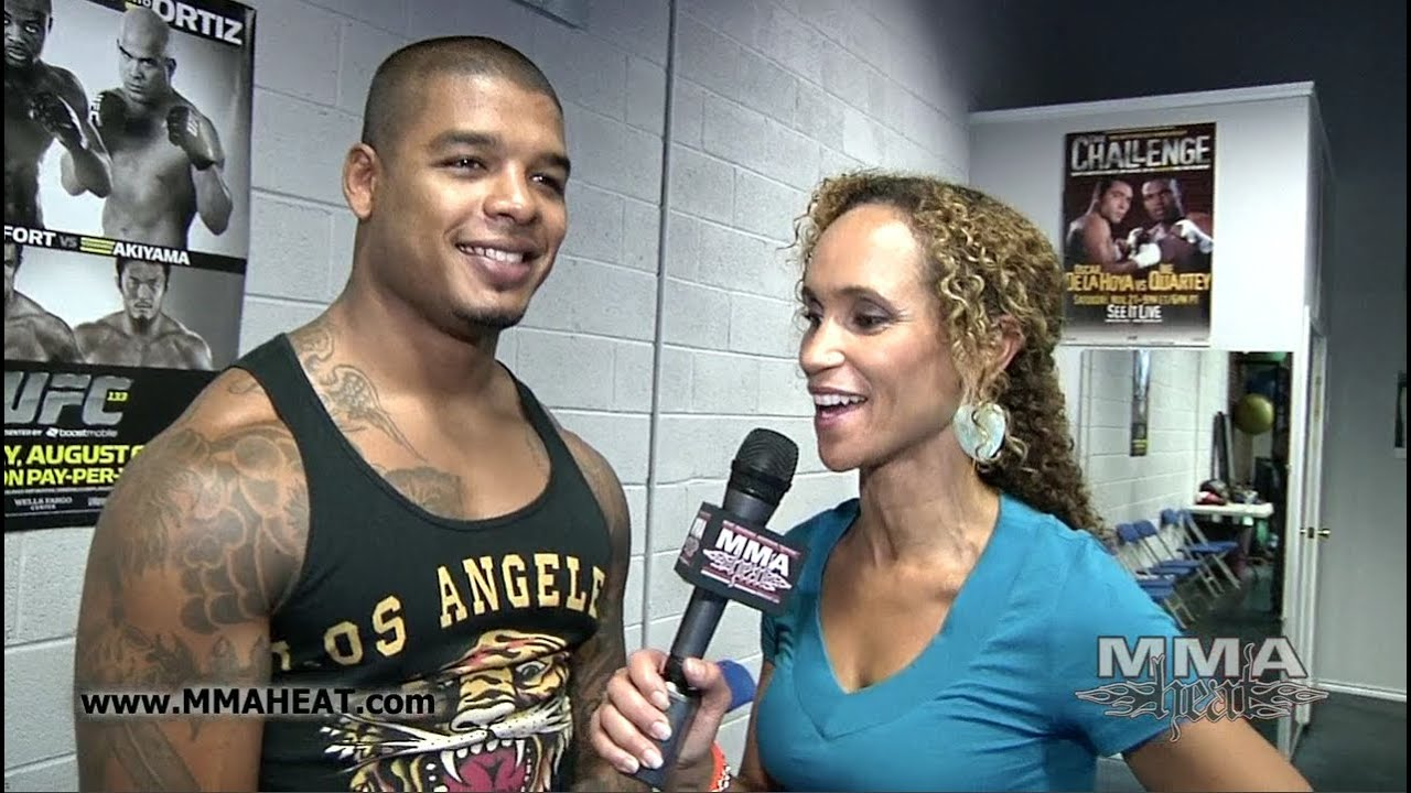 Star Tyrone Spong on Training With Rashad Evans + Competing In MMA ...