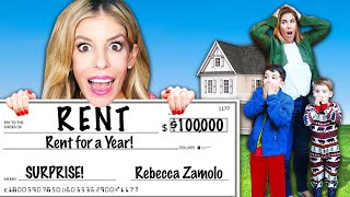 Surprising Subscribers and Paying Their Rent For a Year! Rebecca Zamolo